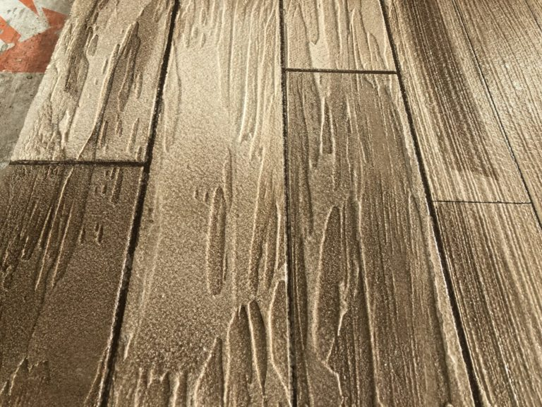 Faux Wood Epoxy Flooring