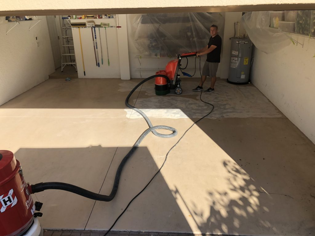 Epoxy Flooring Preparation